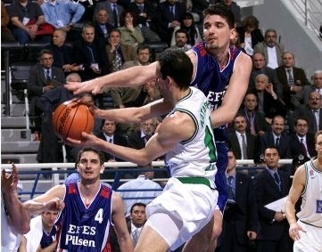 euroleague final four 2000 efes pilsen