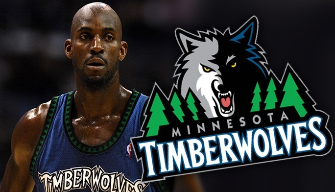 Kevin Garnet Minnesota Timberwolves