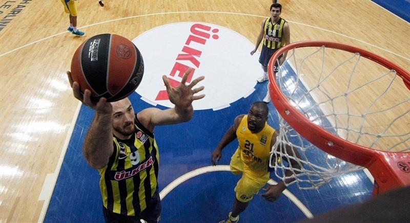Fenerbahçe Ülker'in 2. Maccabi Zaferinin Özeti 82-67