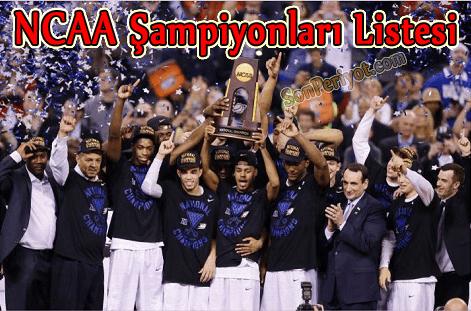 NCAA Şampiyonları Listesi 2015