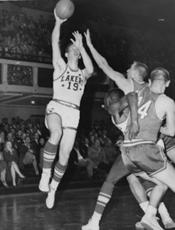 Hawks-Lakers 1956