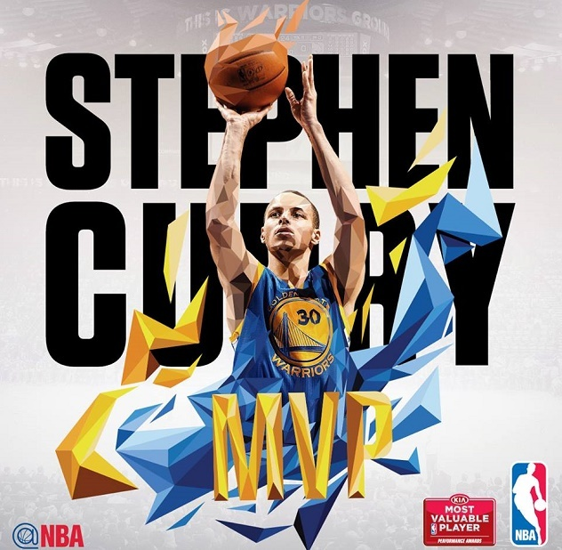 Stephen Curry NBA'de Normal Sezonun MVP'si Seçildi