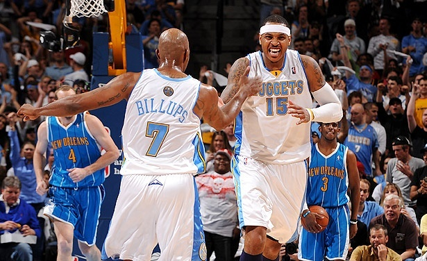 Denver Nuggets 58 sayı