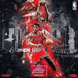 Jimmy Butler NBA'in En Çok Gelişim Gösteren Oyuncusu (MIP) Seçildi