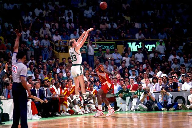 Larry Bird Boston Celtics Game Winner