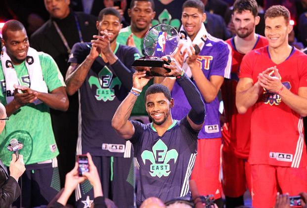 Season: 2013-2014 This years NBA All Star game featured some of the ugliest jerseys of all time. Usually all star jerseys are cool but these were just horrendous!
