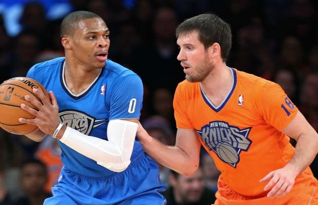 NBA formaları OKC NYK
