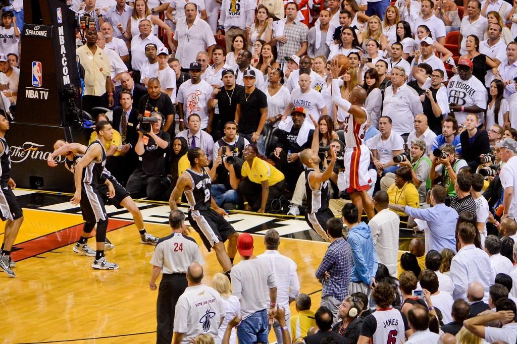 Ray Allen 2013 NBA Finalleri Unutulmaz Üçlük
