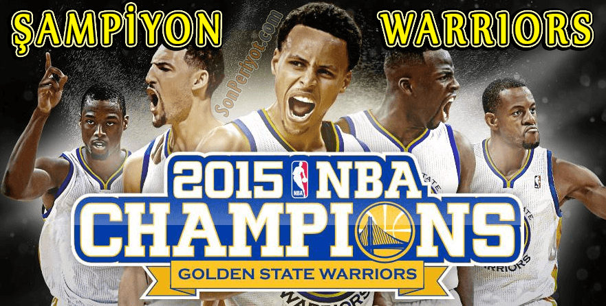 Şampiyon Golden State Warriors