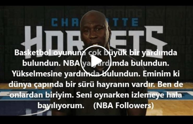 Jordan'dan Kobe'ye Büyük Jest, Bakın Neler Dedi