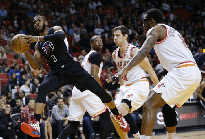 Clippers : Çabuk Heat Uyanmadan (93-100)