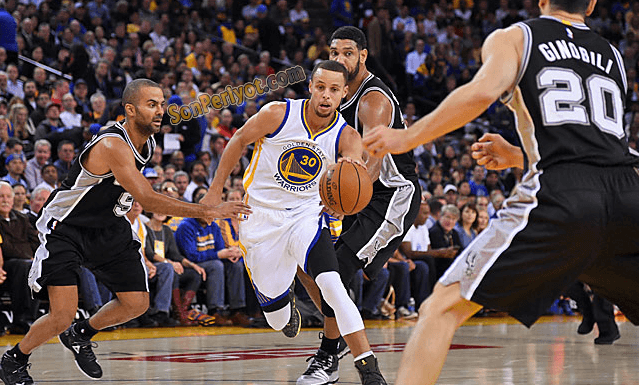 Golden State Warriors - San Antonio Spurs