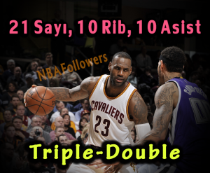 LeBron James Triple Double