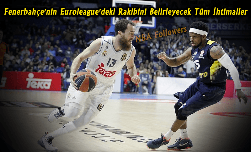 Fenerbahçe'nin Euroleague'deki Rakibini Belirleyecek Tüm İhtimaller