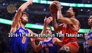 2016-2017 NBA Sezonunun Tüm Takasları