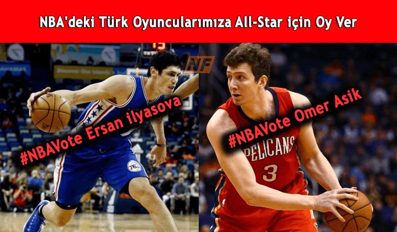 NBA'deki Türk Oyuncularımıza All-Star için Oy Ver