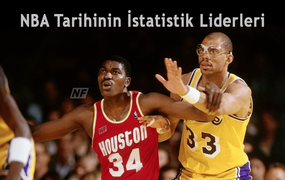 NBA Tarihinin İstatistik Liderleri