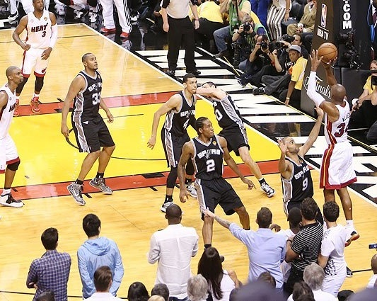 Heat - Spurs 6. Maç