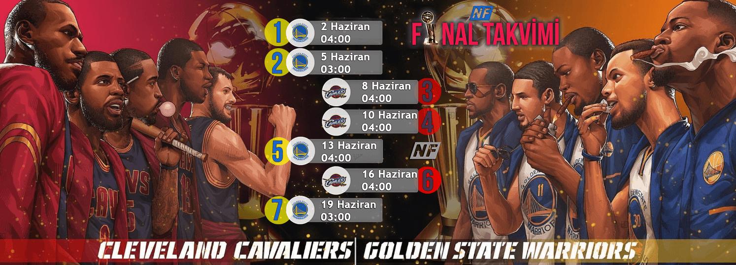 2017 NBA Finalleri Başladı
