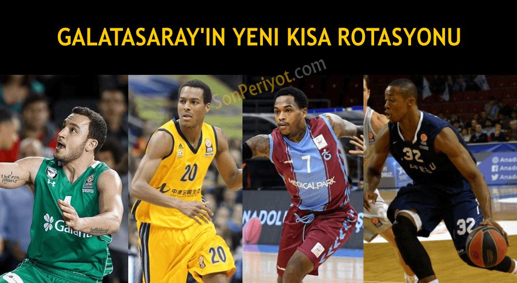 Galatasaray Odeabank'ın Yeni Kısa Rotasyonu
