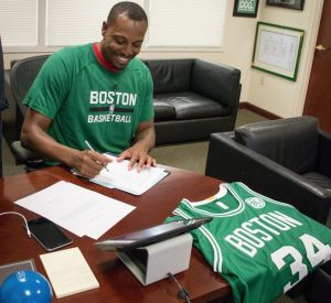 Paul Pierce Boston Celtics'te
