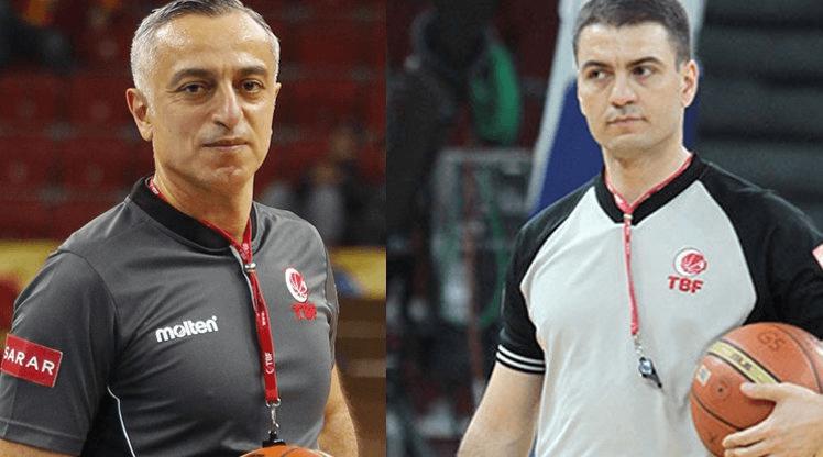 EuroBasket 2017'de İki Türk Hakem