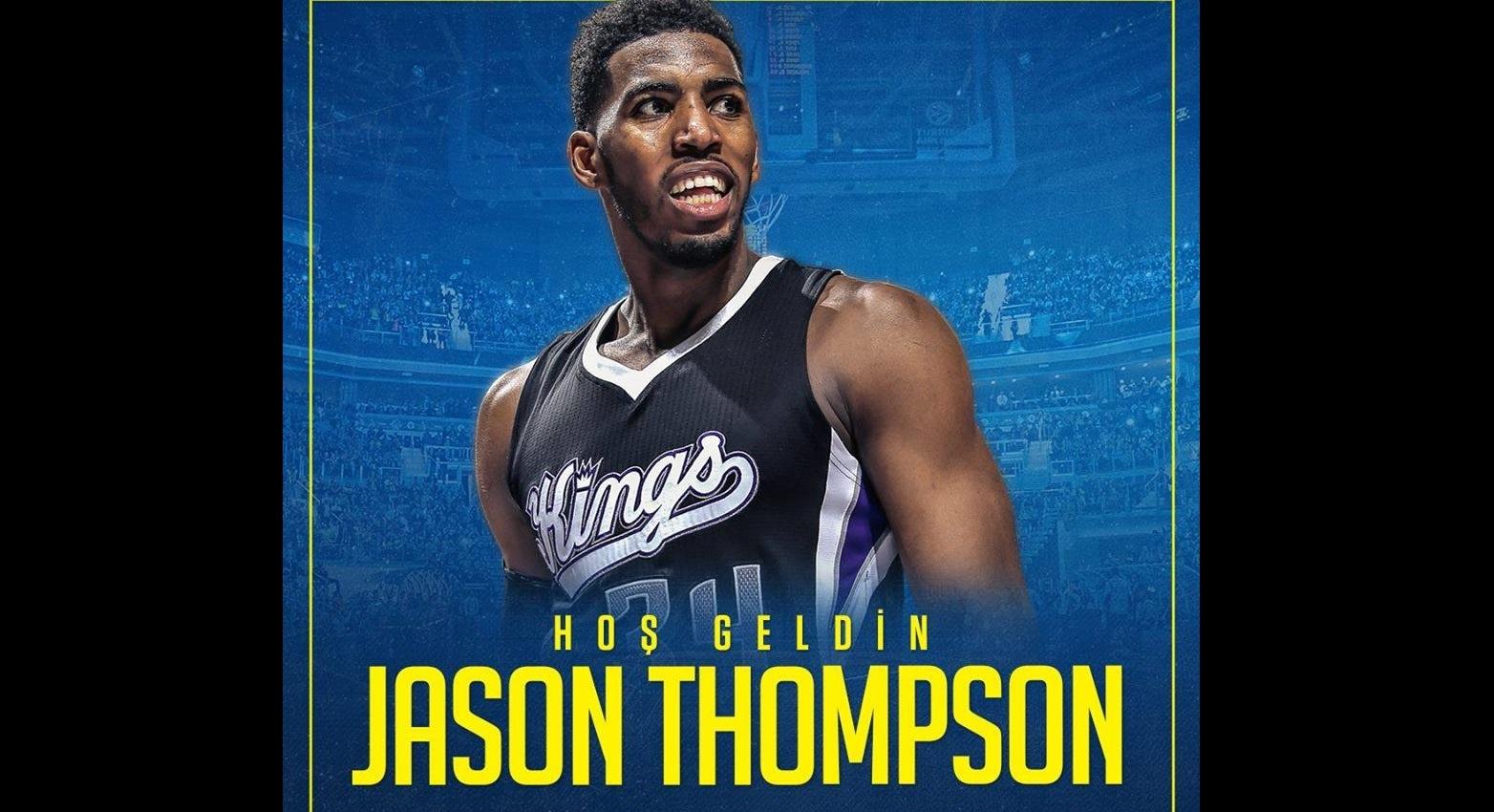 Fenerbahçe Doğuş'un Yeni Uzunu Jason Thompson