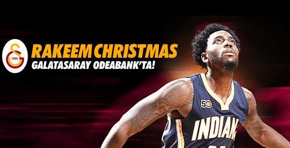 Rakeem Christmas Galatasaray'da