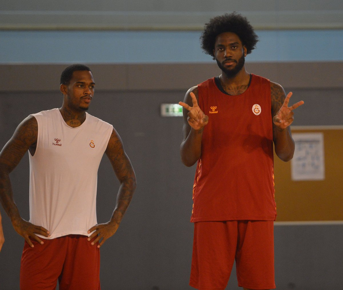 Galatasaray'ın ABD'li forveti Michael Jordan'ın Damadı