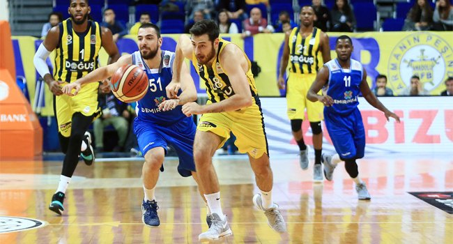 Fenerbahçe Doüuş - Demir İnşaat Büyükçekmece