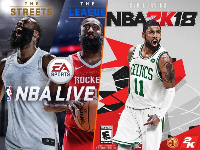NBA 2K18 mi NBA Live 18 mi?
