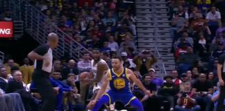 Stephen Curry Sakatlandı ve Oyunu Terk Etti