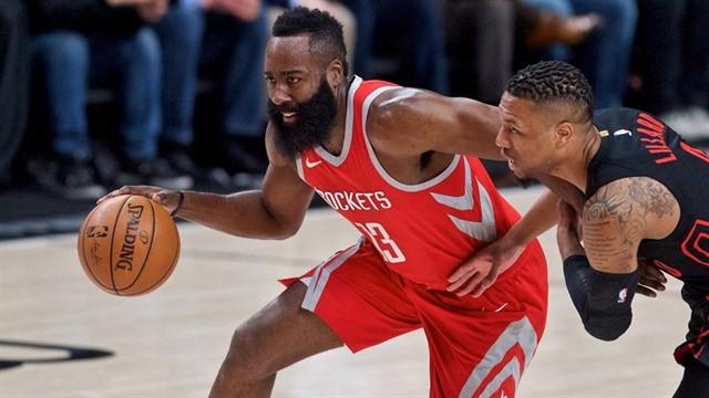 Houston Rockets vs Portland