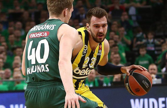 Fenerbahçe, Kaunas'ta Saha Avantajını Geri Aldı