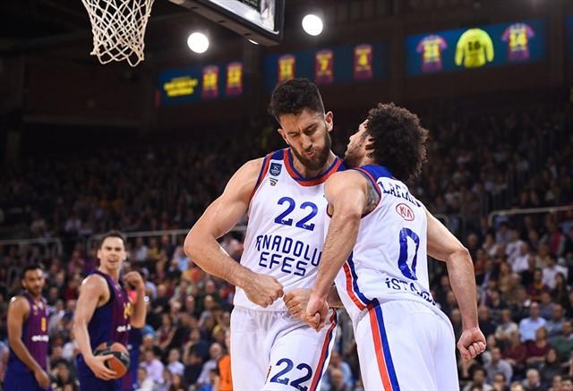 Anadolu Efes'in 2019-2020 EuroLeague Fikstürü