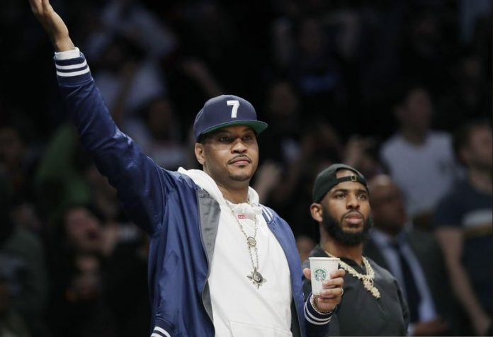 Carmelo Anthony Sessizliğini Bozdu