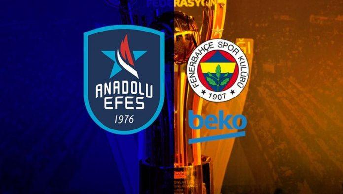Anadolu Efes Fenerbahçe maçı ne zaman saat kaçta hangi kanalda