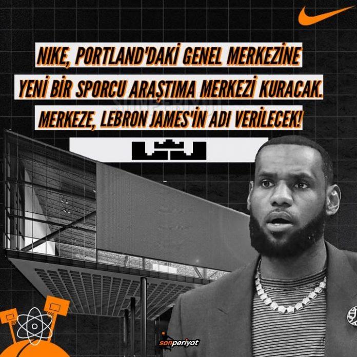 Nike'dan LeBron'a Büyük Jest