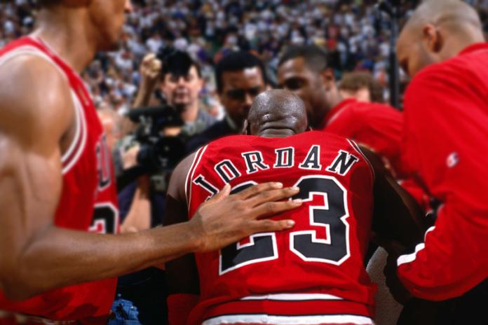 Michael Jordan'ın Unutulmaz Maçı The Flu Game