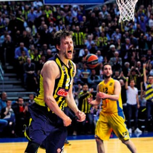 Jan Vesely Fenerbahçe Ülker Maccabi Maçı
