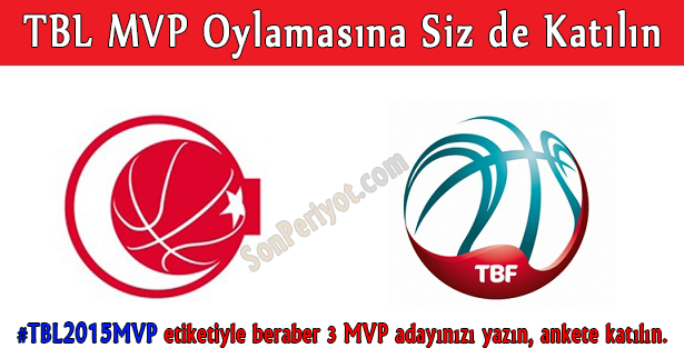 TBL 2015 MVP Oylaması